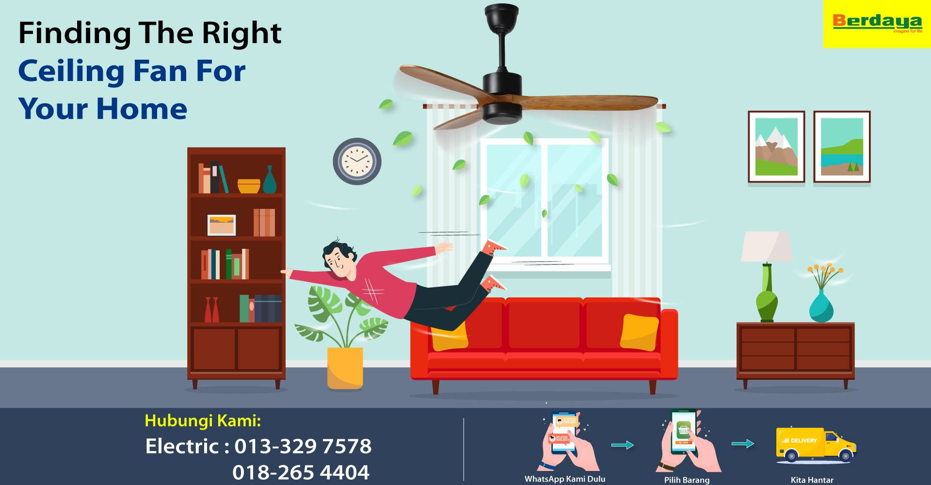 Finding The Right Ceiling Fan For Your Home