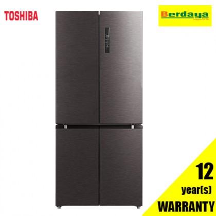 Toshiba 511L GR-RF610WE-PM MULTI-DOOR DUAL INVERTER REFRIGERATOR