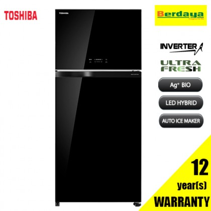 Toshiba GR-AG66MA (XK) 661L 2-DOORS DUO HYBRID INVERTER REFRIGERATOR