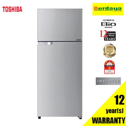 Toshiba GR-A48MBZ (RS) 480L 2-DOORS HYBRID BIO INVERTER REFRIGERATOR