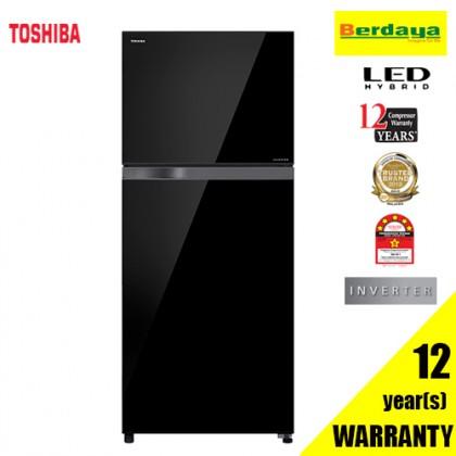 Toshiba GR-AG43MDZ (XK) 430L 2-DOORS LED HYBRID INVERTER REFRIGERATOR