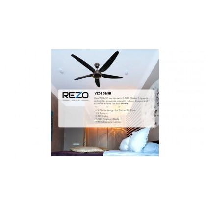 """Rezo VZ56 56"""" 5 Blades 5 Speed Ceiling Fan"""