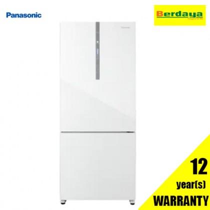Panasonic NR-BX410GWMY 407L Inverter 2-Door Fridge