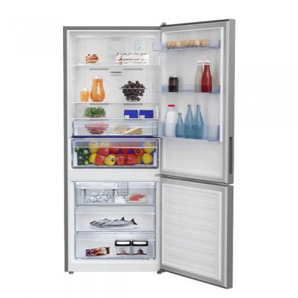 Beko RCNT415E50VZX 415L Top Freezer Refrigerator