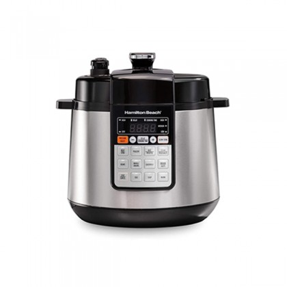 Hamilton Beach 34502-SAU 5.7L Multi Function Stainless Steel Electric Pressure Cooker