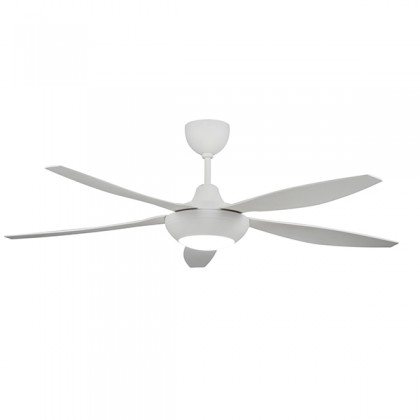 """Ecoluxe ECO-515 56"""" 5 Blades 6 Speed LED Light Ceiling Fan"""