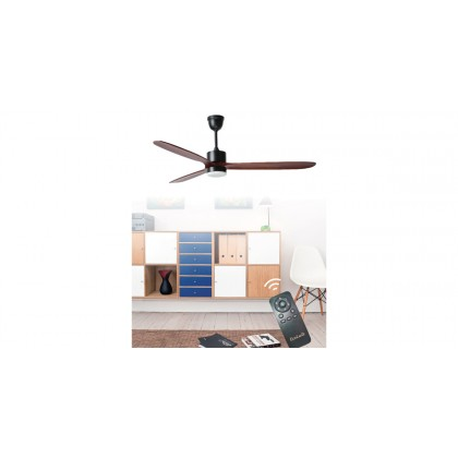 """Ecoluxe ECO-380 60"""" 3 Blades 6 Speeds LED Light Ceiling Fan"""