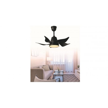 """Ecoluxe ECO-508 36"""" 5 Blades 6 Speed LED 3 Colour Ceilling Fan with Remote Control"""