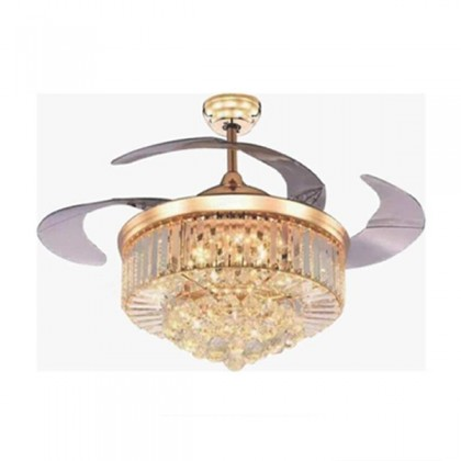 """DeAir CFA231 42"""" 3 Blades 3 Speeds LED Luxury Invisible Ceiling Fan"""