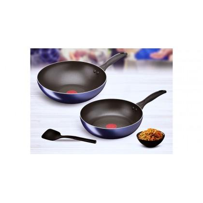 Tefal B266S395 3 piece Non Stick Cookware