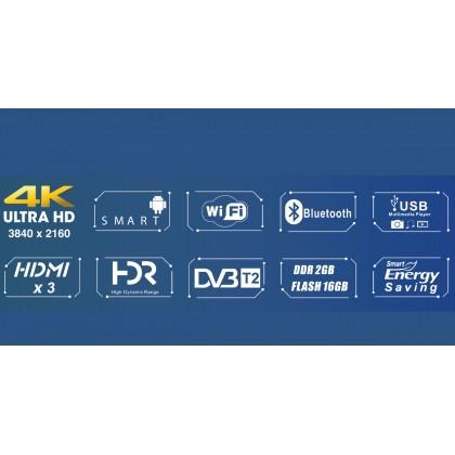 Isonic ICTS6518 65'' Smart LED TV