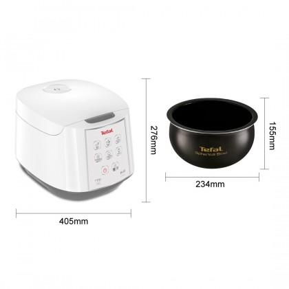 Tefal 1.8L RK732167 Fuzzy Logic Spherical Easy Rice Cooker